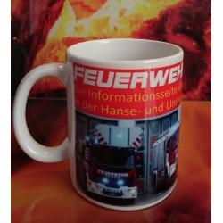 Kaffeetasse Feuerwehr...